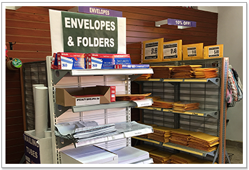 Envelopes and Folders